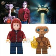 Giochi costruzione - Lego: E.T EL EXTRATERRESTRE Y ELIOT MINIFIGURAS. Lote 251056490