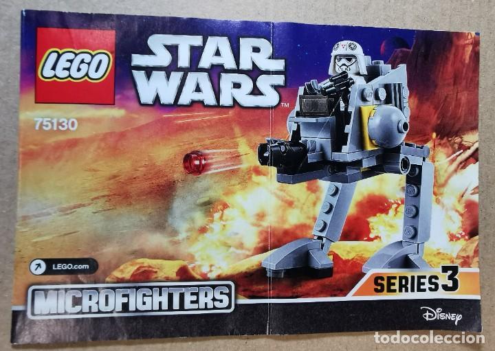 LEGO 75130 STAR WARS AT-DP TM DESCATALOGADO AÑO 2016 SIN MUÑECOS (Juguetes - Construcción - Lego)