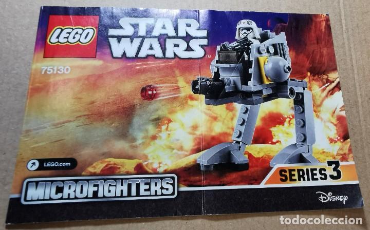 Juegos construcción - Lego: LEGO 75130 STAR WARS AT-DP TM Descatalogado AÑO 2016 SIN MUÑECOS - Foto 11 - 251515065