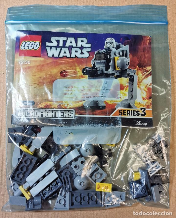 Juegos construcción - Lego: LEGO 75130 STAR WARS AT-DP TM Descatalogado AÑO 2016 SIN MUÑECOS - Foto 16 - 251515065
