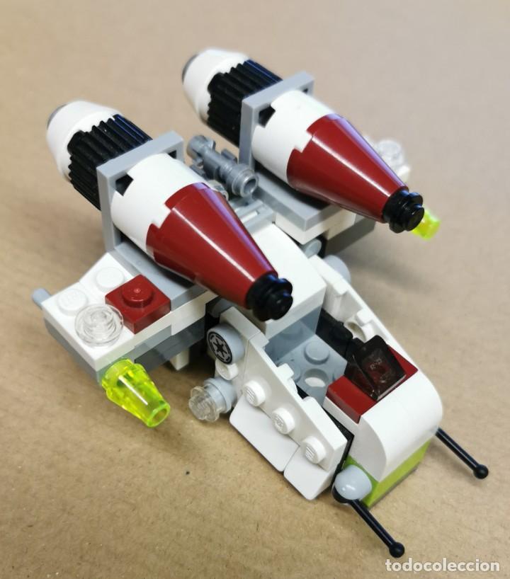LEGO 75076 STAR WARS REPUBLIC GUNSHIP SERIE 2 DESCATALOGADO AÑO 2015 SIN MUÑECOS (Juguetes - Construcción - Lego)