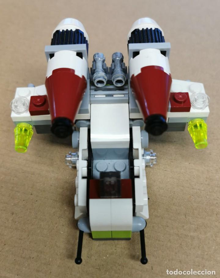 Juegos construcción - Lego: LEGO 75076 STAR WARS Republic Gunship serie 2 Descatalogado AÑO 2015 SIN MUÑECOS - Foto 2 - 251592210