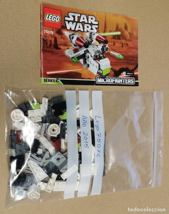 Juegos construcción - Lego: LEGO 75076 STAR WARS Republic Gunship serie 2 Descatalogado AÑO 2015 SIN MUÑECOS - Foto 12 - 251592210
