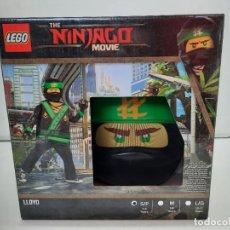 Juegos construcción - Lego: LEGO THE NINJAGO MOVIE DISFRAZ NUEVO A ESTRENAR!!. Lote 251835165