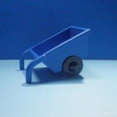 Juegos construcción - Lego: CARRETILLA LEGO - DUPLO - AZUL. Lote 253259060