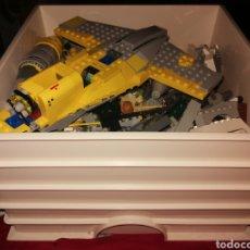 Jeux construction - Lego: CAJA LEGO 25X25 ALTO 15 CM ORIGINAL LLENA DE PIEZAS ENVIO 6 E. Lote 253894620
