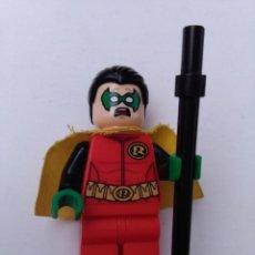 Juegos construcción - Lego: LEGO FIGURA DC COMICS SUPER HEROES MINIFIGURA ROBIN 76013 2014.. Lote 253498720