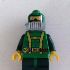 Juegos construcción - Lego: LEGO FIGURA MARVEL SUPERHÉROES MINIFIGURA ATAQUE SUBMARINO CRANEO DE HIERRO 76048. Lote 254067000