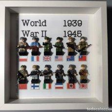 Juegos construcción - Lego: CUADRO SEGUNDA GUERRA MUNDIAL LEGO. Lote 254615825