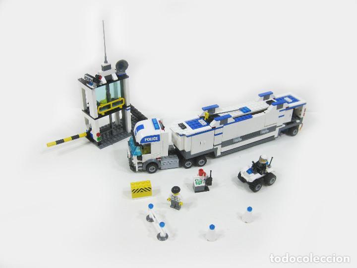 CAMIÓN Y COMISARIA LEGO CITY 7743 (Juguetes - Construcción - Lego)