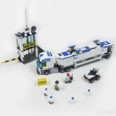 Juegos construcción - Lego: CAMION Y COMISARIA LEGO CITY 7743. Lote 254630645
