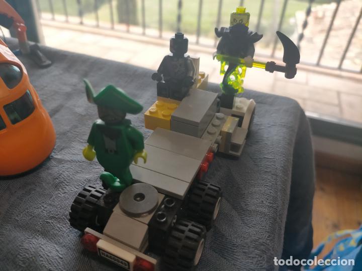 Juegos construcción - Lego: Gran pack de 10 coches y vehiculos de lego , de carreras, helicoptero, avion y 12 conductores - Foto 7 - 254639635