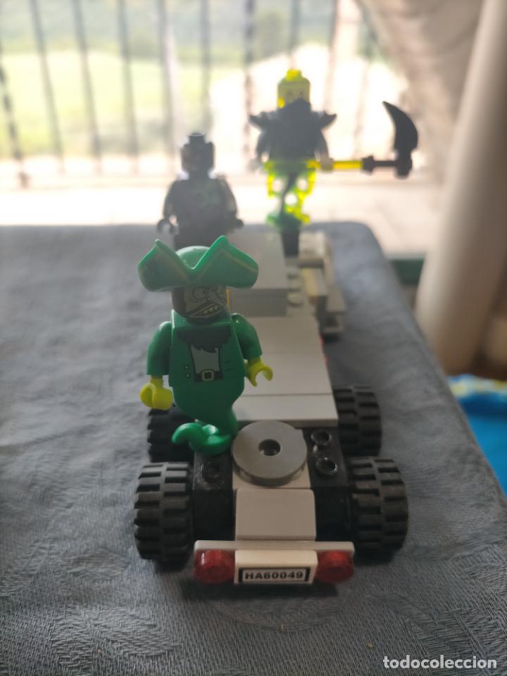 Juegos construcción - Lego: Gran pack de 10 coches y vehiculos de lego , de carreras, helicoptero, avion y 12 conductores - Foto 8 - 254639635
