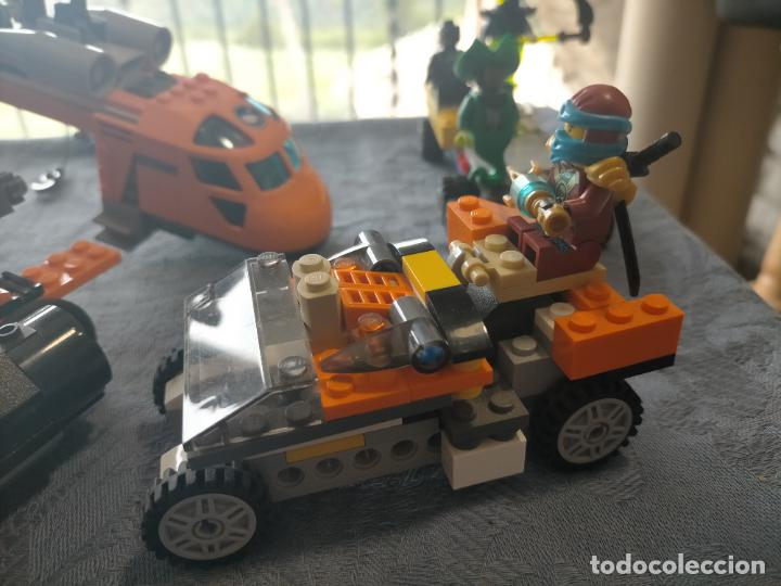 Juegos construcción - Lego: Gran pack de 10 coches y vehiculos de lego , de carreras, helicoptero, avion y 12 conductores - Foto 10 - 254639635