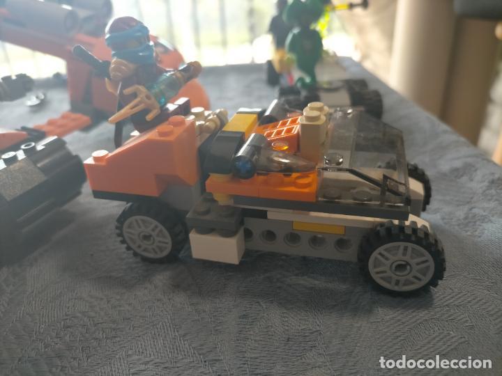 Juegos construcción - Lego: Gran pack de 10 coches y vehiculos de lego , de carreras, helicoptero, avion y 12 conductores - Foto 11 - 254639635