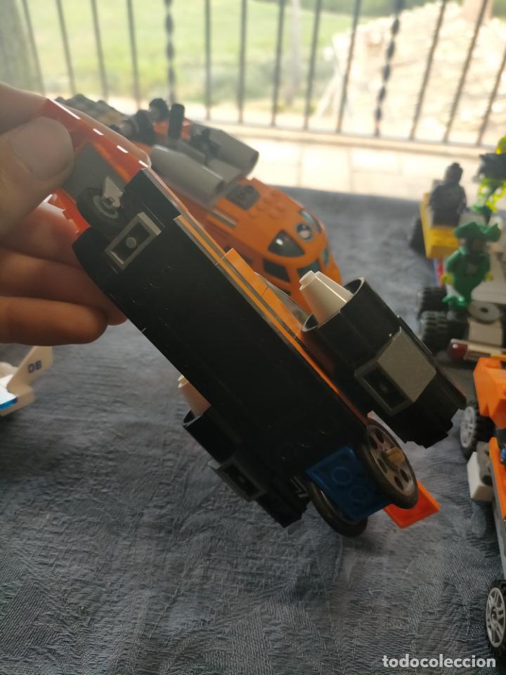 Juegos construcción - Lego: Gran pack de 10 coches y vehiculos de lego , de carreras, helicoptero, avion y 12 conductores - Foto 13 - 254639635