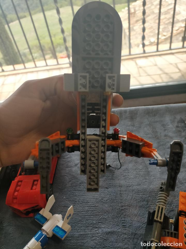 Juegos construcción - Lego: Gran pack de 10 coches y vehiculos de lego , de carreras, helicoptero, avion y 12 conductores - Foto 15 - 254639635