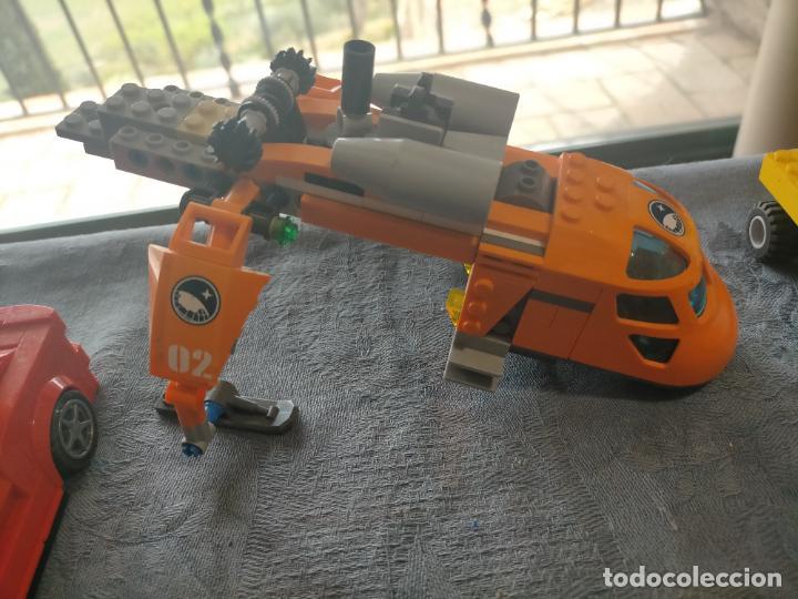 Juegos construcción - Lego: Gran pack de 10 coches y vehiculos de lego , de carreras, helicoptero, avion y 12 conductores - Foto 17 - 254639635