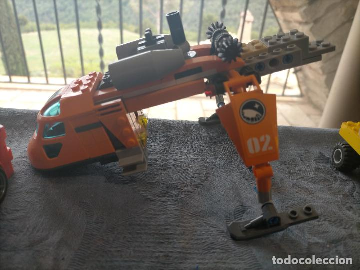 Juegos construcción - Lego: Gran pack de 10 coches y vehiculos de lego , de carreras, helicoptero, avion y 12 conductores - Foto 18 - 254639635