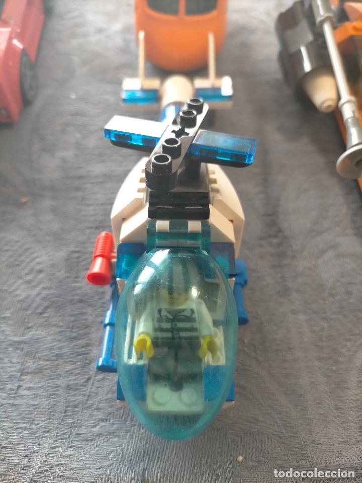 Juegos construcción - Lego: Gran pack de 10 coches y vehiculos de lego , de carreras, helicoptero, avion y 12 conductores - Foto 20 - 254639635