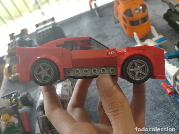 Juegos construcción - Lego: Gran pack de 10 coches y vehiculos de lego , de carreras, helicoptero, avion y 12 conductores - Foto 22 - 254639635