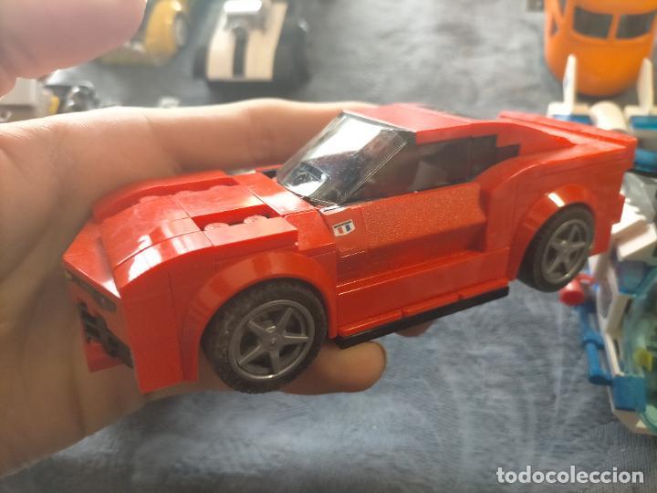 Juegos construcción - Lego: Gran pack de 10 coches y vehiculos de lego , de carreras, helicoptero, avion y 12 conductores - Foto 24 - 254639635