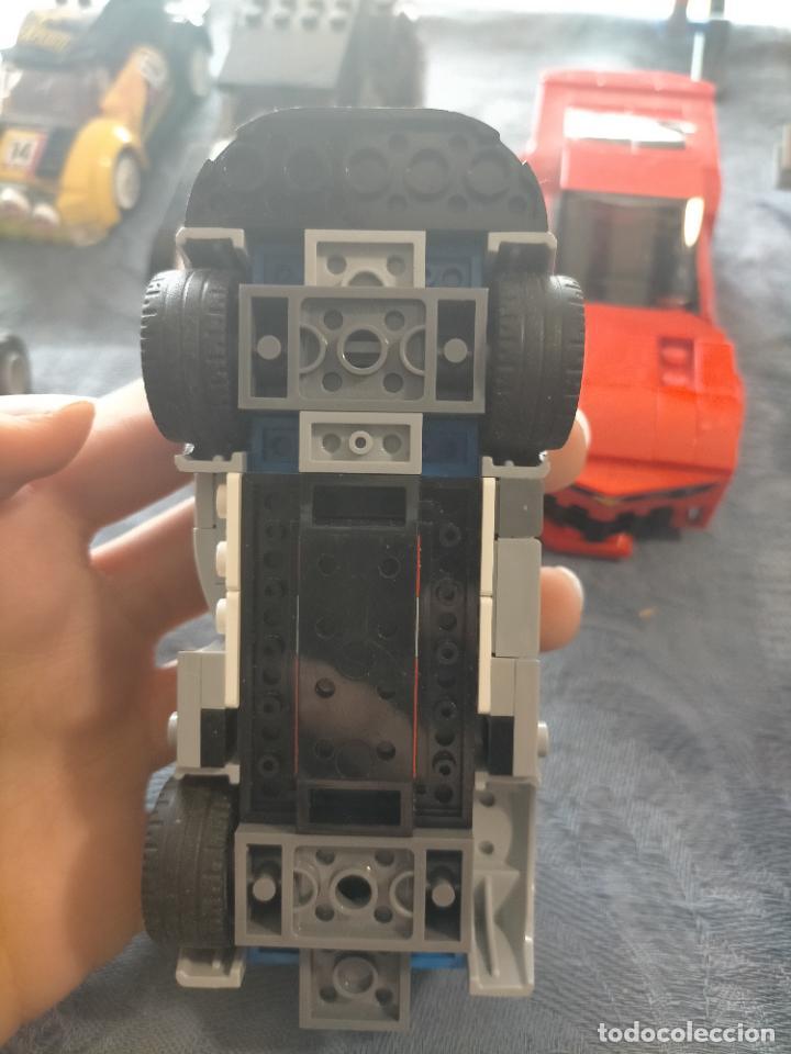 Juegos construcción - Lego: Gran pack de 10 coches y vehiculos de lego , de carreras, helicoptero, avion y 12 conductores - Foto 25 - 254639635