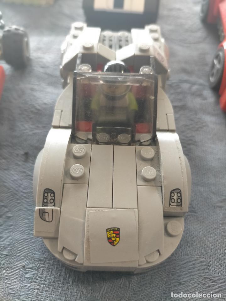 Juegos construcción - Lego: Gran pack de 10 coches y vehiculos de lego , de carreras, helicoptero, avion y 12 conductores - Foto 30 - 254639635