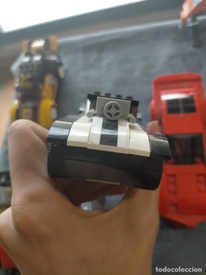Juegos construcción - Lego: Gran pack de 10 coches y vehiculos de lego , de carreras, helicoptero, avion y 12 conductores - Foto 31 - 254639635