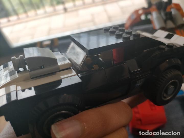 Juegos construcción - Lego: Gran pack de 10 coches y vehiculos de lego , de carreras, helicoptero, avion y 12 conductores - Foto 33 - 254639635