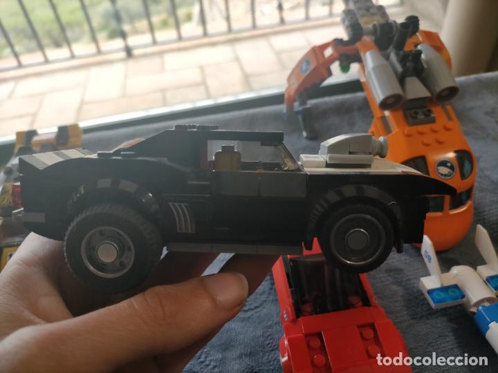 Juegos construcción - Lego: Gran pack de 10 coches y vehiculos de lego , de carreras, helicoptero, avion y 12 conductores - Foto 34 - 254639635