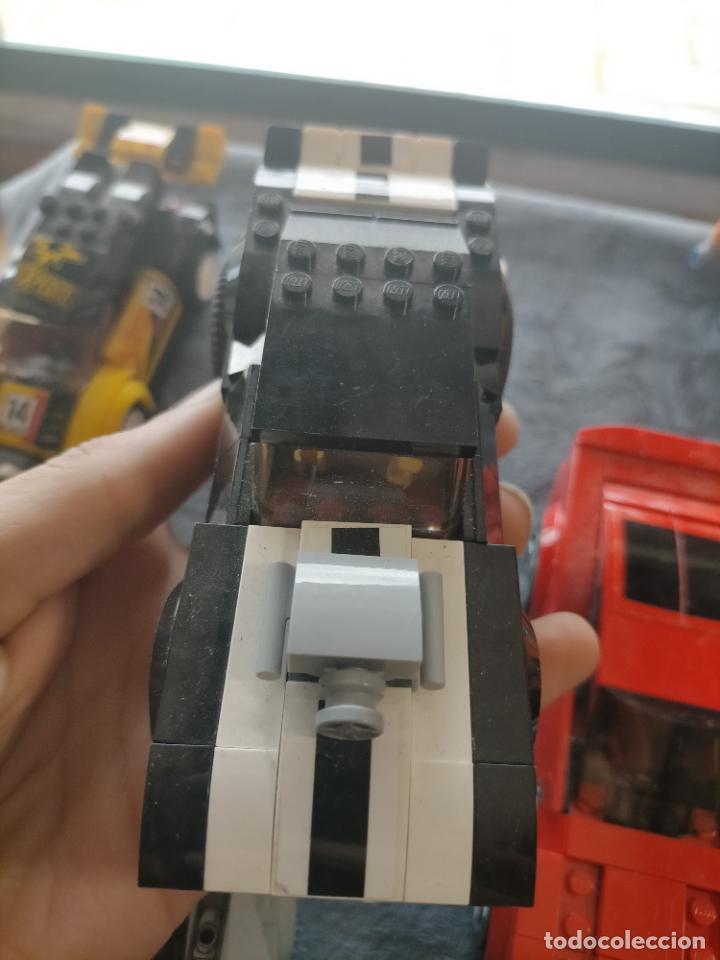 Juegos construcción - Lego: Gran pack de 10 coches y vehiculos de lego , de carreras, helicoptero, avion y 12 conductores - Foto 35 - 254639635