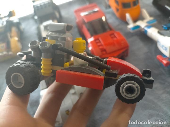 Juegos construcción - Lego: Gran pack de 10 coches y vehiculos de lego , de carreras, helicoptero, avion y 12 conductores - Foto 36 - 254639635