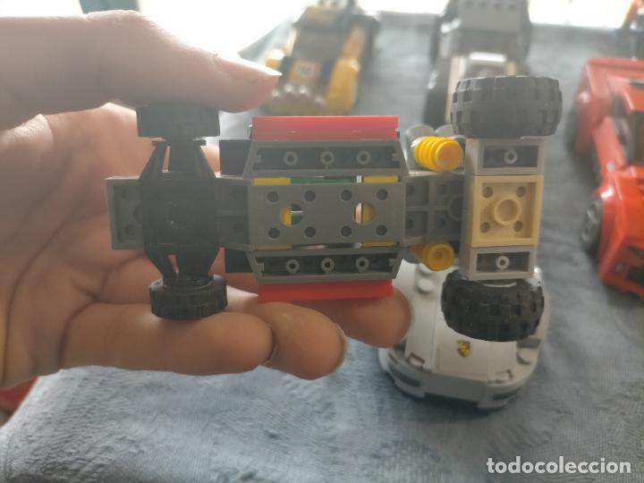 Juegos construcción - Lego: Gran pack de 10 coches y vehiculos de lego , de carreras, helicoptero, avion y 12 conductores - Foto 37 - 254639635