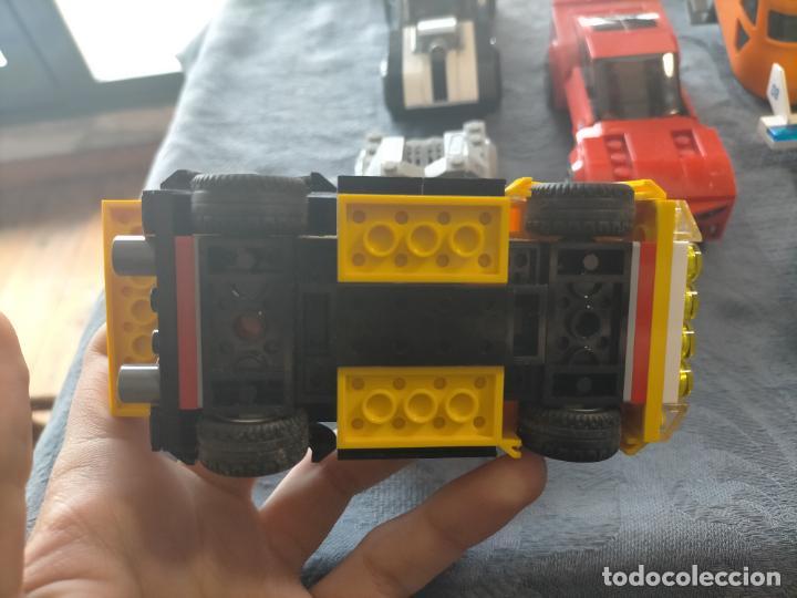Juegos construcción - Lego: Gran pack de 10 coches y vehiculos de lego , de carreras, helicoptero, avion y 12 conductores - Foto 38 - 254639635