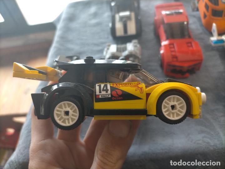 Juegos construcción - Lego: Gran pack de 10 coches y vehiculos de lego , de carreras, helicoptero, avion y 12 conductores - Foto 39 - 254639635
