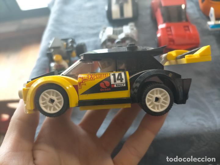 Juegos construcción - Lego: Gran pack de 10 coches y vehiculos de lego , de carreras, helicoptero, avion y 12 conductores - Foto 40 - 254639635