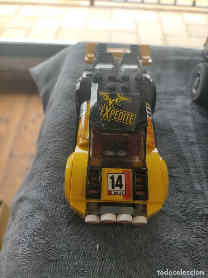 Juegos construcción - Lego: Gran pack de 10 coches y vehiculos de lego , de carreras, helicoptero, avion y 12 conductores - Foto 41 - 254639635
