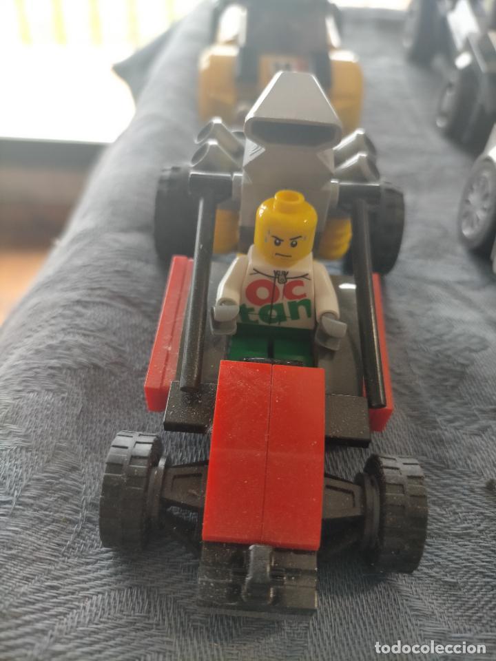 Juegos construcción - Lego: Gran pack de 10 coches y vehiculos de lego , de carreras, helicoptero, avion y 12 conductores - Foto 42 - 254639635