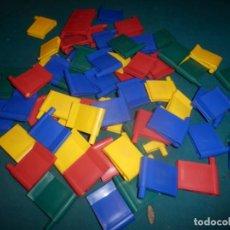 Juegos construcción - Lego: JUEGO DE BISAGRAS Y ESCUADRAS CON PINZA - VER FOTOS Y DESCRIPCIÓN - NO ES LEGO. Lote 254679000
