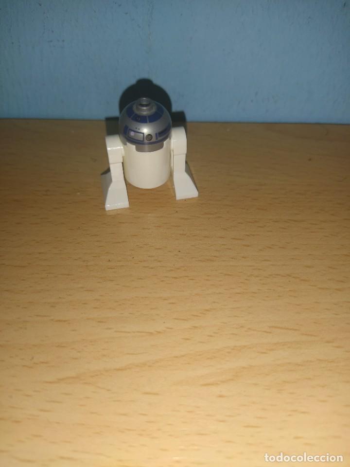Juegos construcción - Lego: lego star wars figura R2-D2 original - Foto 2 - 254680435