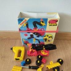 Juegos construcción - Lego: LEGO DUPLO TOOLO 2940 LOTE DE PIEZAS DUPLO Y OTRAS. Lote 256025150