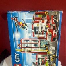 Juegos construcción - Lego: LEGO CITY 60110. ESTACION DE BOMBEROS . VER FOTOS. Lote 257610525