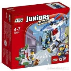 Juegos construcción - Lego: LEGO 10720 PERSECUCIÓN EN HELICÓPTERO DE LA POLICÍA (CITY / JUNIORS). NUEVO EN CAJA.. Lote 257697275