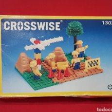 Juegos construcción - Lego: ANTIGUO JUEGO CONSTRUCCIÓN CROSSWISE N° 1203/ AÑO 1988 / SIMILAR LEGO. Lote 260273525