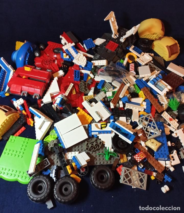 LOTE DE PIEZAS DE CONSTRUCCION MEGA BLOCKS Y SIMILAR.1.473 GRAMOS (Juguetes - Construcción - Lego)