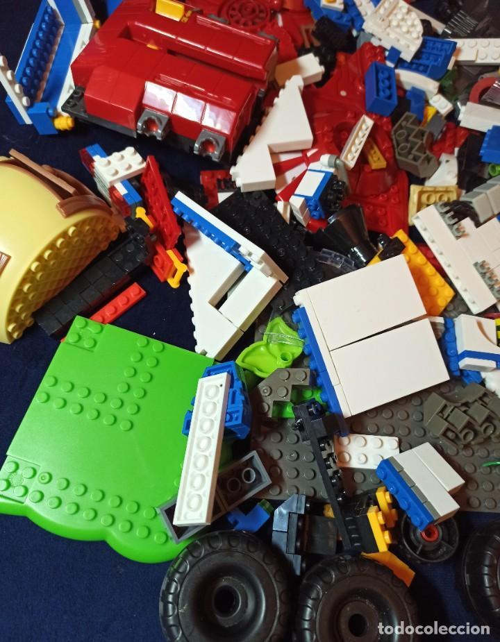 Juegos construcción - Lego: Lote de Piezas de construccion Mega Blocks y similar.1.473 gramos - Foto 2 - 261612900