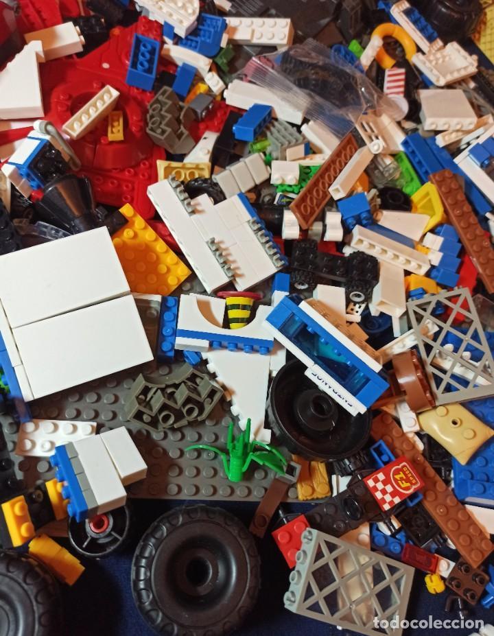 Juegos construcción - Lego: Lote de Piezas de construccion Mega Blocks y similar.1.473 gramos - Foto 3 - 261612900