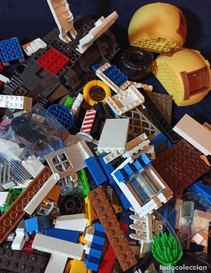 Juegos construcción - Lego: Lote de Piezas de construccion Mega Blocks y similar.1.473 gramos - Foto 5 - 261612900