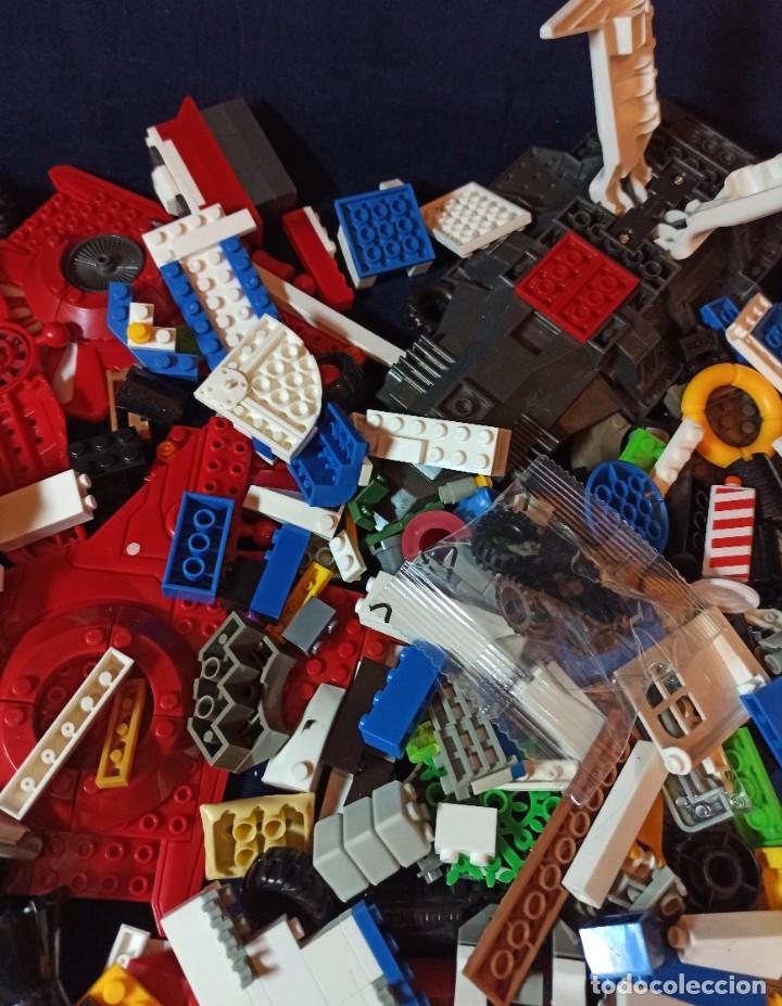 Juegos construcción - Lego: Lote de Piezas de construccion Mega Blocks y similar.1.473 gramos - Foto 6 - 261612900